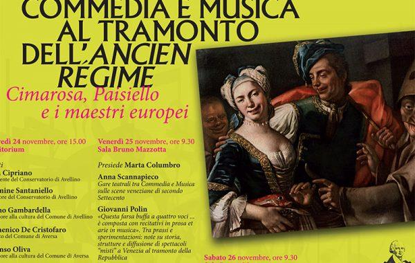 Commedia e Musica al tramonto dell'Ancien Régime